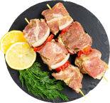 Шашлык из свинины в славянском стиле