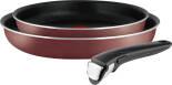 Набор посуды Tefal Ingenio RED 5 Сковороды 22 и 26см