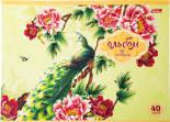 Альбом для рисования Hatber Райский сад 40л в ассортименте