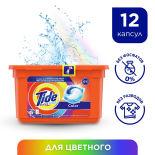 Капсулы для стирки Tide 3in1 Pods Color 12шт