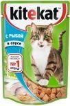 Корм для кошек Kitekat с рыбой в соусе 85г