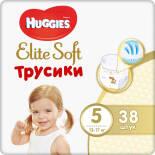 Подгузники-трусики Huggies Elite Soft №5 12-17кг 38шт