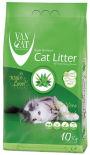 Наполнитель для кошачьего туалета Van Cat Aloe Vera с ароматом алоэ вера 5кг