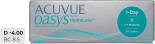 Контактные линзы Acuvue Oasys 1-Day with HydraLuxe Однодневные -4.00/14.3/8.5 30шт