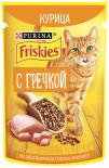 Корм для кошек Friskies с курицей и гречкойв подливе 75г