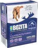 Корм для собак Bozita Turkey кусочки в желе с индейкой 370г