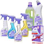 Набор чистящих средств Meine Liebe Генеральная уборка 7 предметов