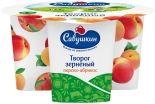 Творог Зерненый Савушкин Персик-абрикос 5% 130г