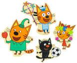 Набор пазлов Alatoys Три кота