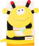 Мочалка-варежка для душа Body Break Пчелка