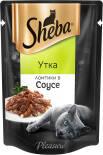 Корм для кошек Sheba Pleasure Ломтики с уткой в соусе 85г