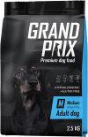 Корм для собак Grand Prix Medium Adult Курица 2.5кг