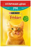 Корм для кошек Friskies с уткой в подливе 50г