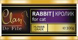 Корм для кошек Clan De File Кролик 100г