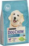 Сухой корм для щенков Dog Chow Puppy с ягненком 14кг