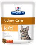 Сухой корм для кошек Hills Prescription Diet k/d при заболеваниях почек с курицей 400г