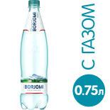 Вода Borjomi минеральная лечебно-столовая газированная 750мл