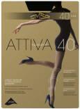 Колготки Omsa Attiva 40 Nero Черные Размер 5