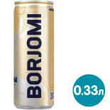 Напиток Borjomi Flavored Water Цитрусовый микс-Имбирь без сахара 330мл
