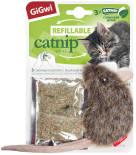 Игрушка для кошек GiGwi Мышка с кошачей мятой