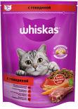 Сухой корм для кошек Whiskas Вкусные подушечки с паштетом Вкусный обед с говядиной 800г