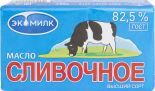 Масло сливочное Экомилк 82.5% 180г