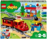 Конструктор LEGO DUPLO Town 10874 Поезд на паровой тяге