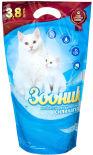 Наполнитель для кошачьего туалета Зооник силикагелевый 3.8л