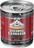 Корм для собак Погрызухин Оленина с клюквой 338г
