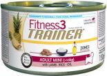 Корм для собак Trainer Fitness3 Mini Ягненок рис 150г