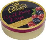Леденцы карамельные Queens Delight Лесные ягоды 150г