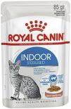 Корм для кошек Royal Canin Indoor Sterilised кусочки в соусе 85г