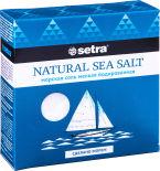 Соль Setra Морская мелкая йодированная 500г