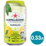 Напиток Sanpellegrino Pompelmo 330мл