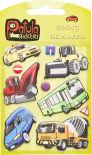Наклейки Yiwu onccc Patula Stickers Машины мягкие в ассортименте