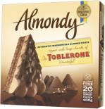 Торт Almondy Миндальный с кусочками Toblerone замороженный 400г