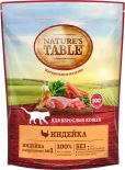 Сухой корм для кошек Natures Table Индейка 650г