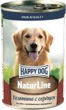 Корм для собак Happy Dog Телятина с сердцем 400г