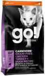 Сухой корм для кошек Go! 4 мяса курица индейка утка лосось 3.63кг