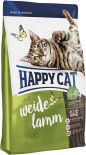 Сухой корм для взрослых кошек Happy Cat Ягненок 1.4кг