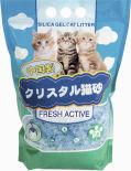 Наполнитель для туалета Hakase Arekkusu Fresh Active силикагелевый 7.6л