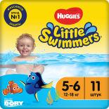 Подгузники-трусики Huggies Little Swimmers №5-6 12-18кг 11шт