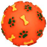 Игрушка для собак Triol мяч с лапками и косточками