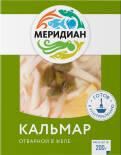 Кальмар Меридиан в желе с каперсами и лимоном 200г