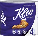 Бумага туалетная Kleo Silk Touch Premium 4 рулона 4 слоя