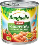 Фасоль Bonduelle Expert Белая в томатном соусе 400г