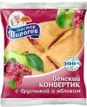 Конвертик Мастер Пирогов Венский с брусникой и яблоком 70г