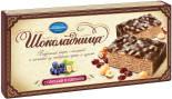 Вафельный торт Шоколадница с орехами и изюмом 270г