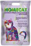 Наполнитель для кошачьего туалета Homecat Лаванда 12.5л
