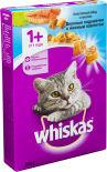 Сухой корм для кошек Whiskas Вкусные подушечки с паштетом Обед с лососем 350г
